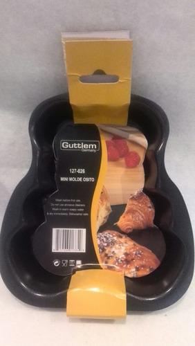 molde osito de hornear tortas galletas  guttlem hogar/cocina
