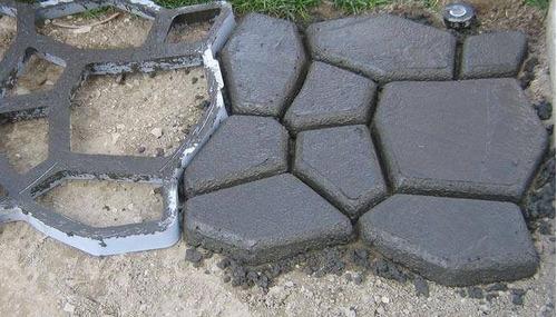 molde para cemento 40x40x5