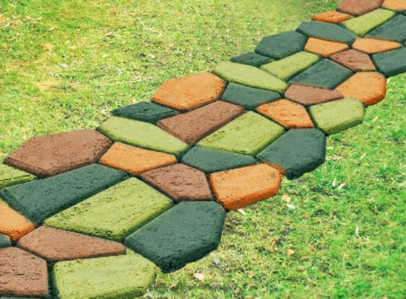 Molde para cemento 50x50cm en mercado libre - Suelos de exterior para jardin ...