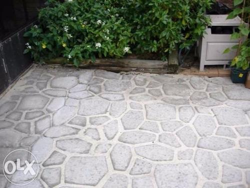 molde para cemento 50x50cm rebajado