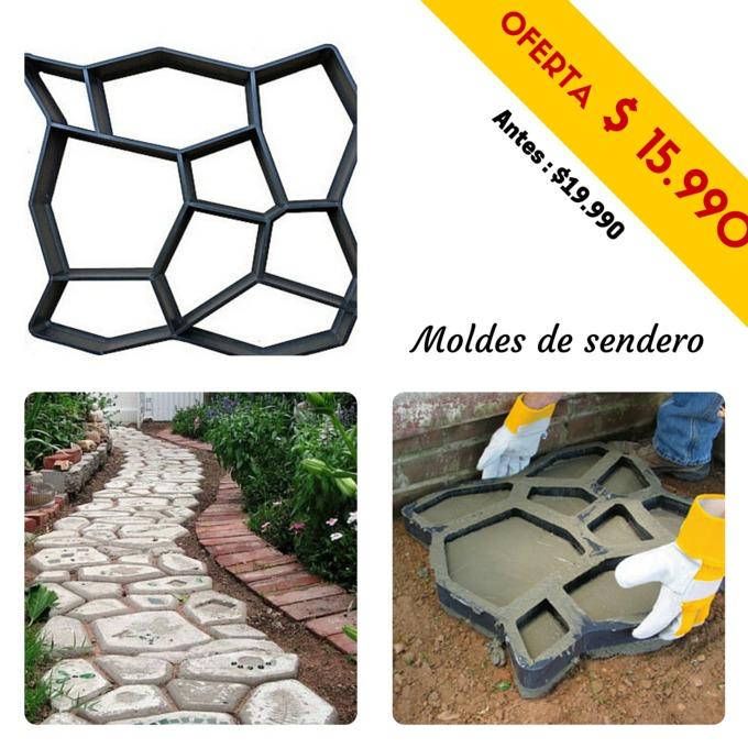 Molde para cemento 50x50cm rebajado en mercado libre - Moldes de cemento ...