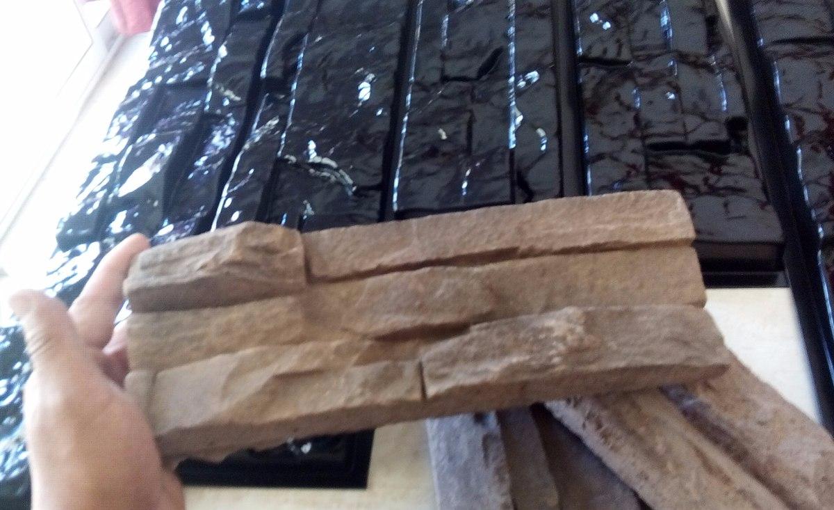 Molde Para Concreto Kit De 5 - Tipo Piedra Pared Fachaleta ...