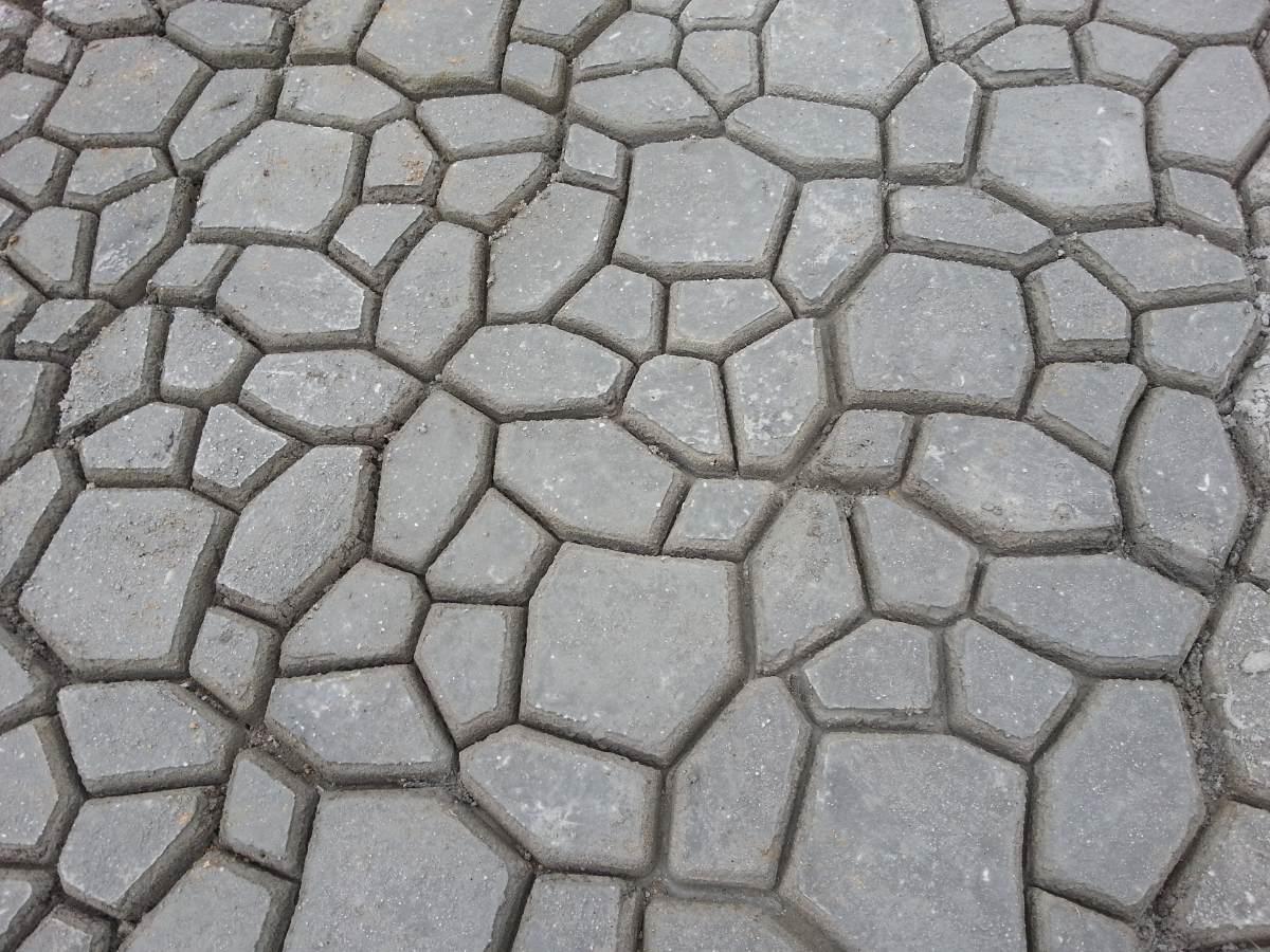 Molde para empedrados en concreto usado buen estado - Moldes de cemento ...