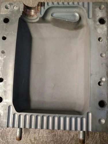 molde para envase de 4lt con embudo, soplado de polietileno