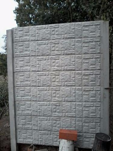 molde para fabricacion de cerco decorativo  simil piedra