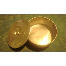 Molde Para Hacer Quesillo (quesillera) Aluminio 20 Cms Usado