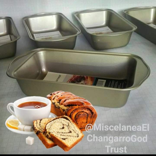 molde  para hornear pan.nuevos. ideal para bizcochos, zepel
