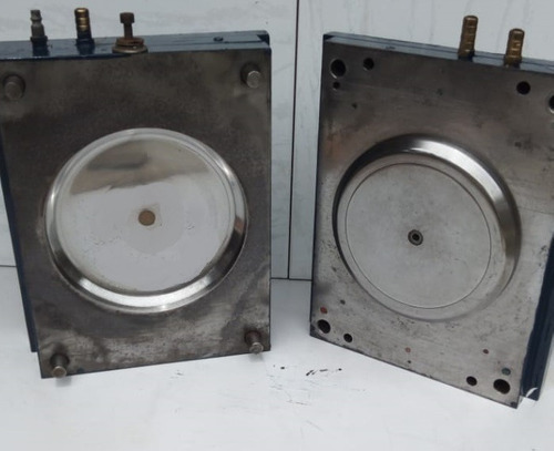 molde para injetora  disco frisbee