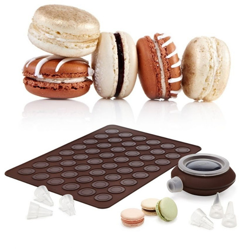 molde para macarrones franceses o galletas con dosificador -