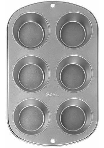 molde para magdalenas receta correcta de wilton 6 cavidades