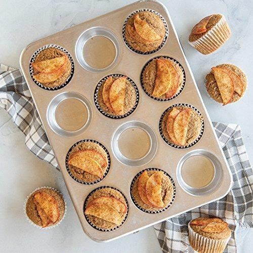 molde para muffins comerciales de aluminio natural nordico,