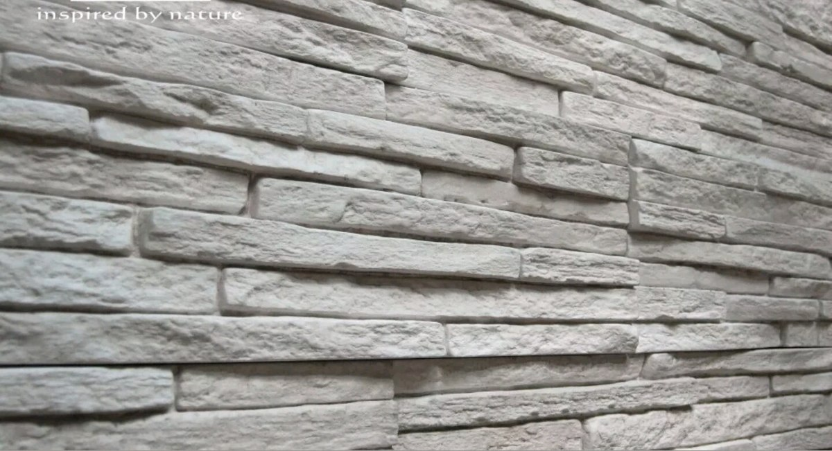 Molde para pared de dise o estilo piedra cultivada - Cemento decorativo para paredes ...