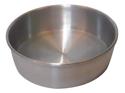 molde para pastel  de aluminio redondo  22 cm