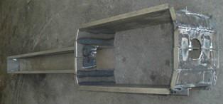 molde para pilar de luz monofasico