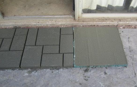 Molde para pisos tipo loseta europea rapido y de calidad - Como hacer brillar el piso de cemento ...