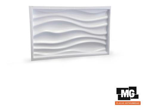 molde para placas antihumedad onda 3d 48x28