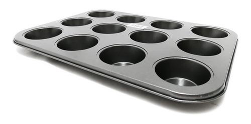 molde para ponque de 12 unidades  de  capacillo 8-9-10