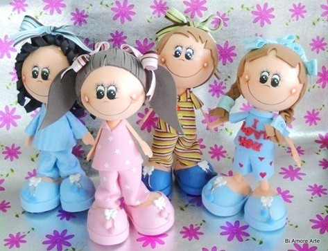 molde para rostro de muñeca en goma eva microporoso foami s 30 00
