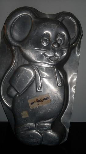 molde para torta ratón