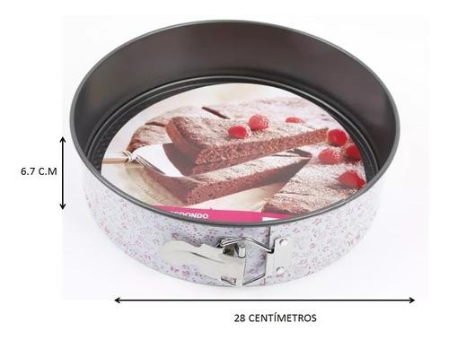 molde pastel desmontable redondo 28 cm