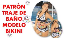 Patron De Dama Gratis Traje Molde Bikini Baño Envio ON80wkPnX