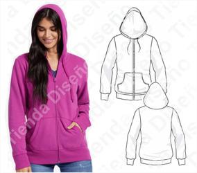 399af3d36 Moldes Para Mujer Embarazada - Buzos y Hoodies en Mercado Libre ...