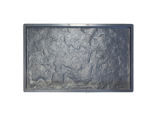 molde placa anti humedad  piedra mar del plata 30 x 50 cm