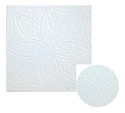 molde placa revestimiento interior y exterior 40 x 40 flor