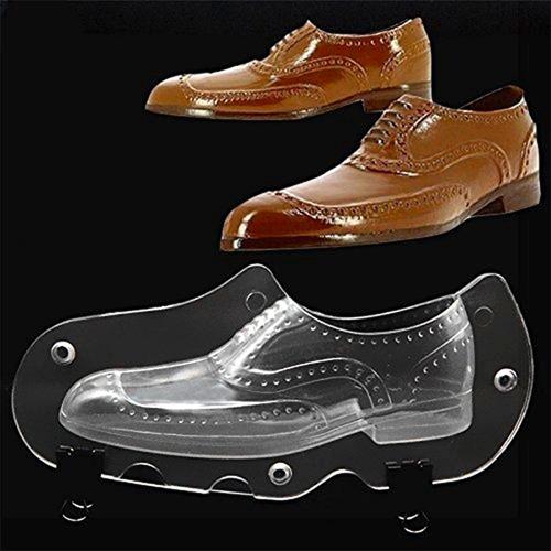 molde plastico zapato cuero hombre chocolate reposteria fc