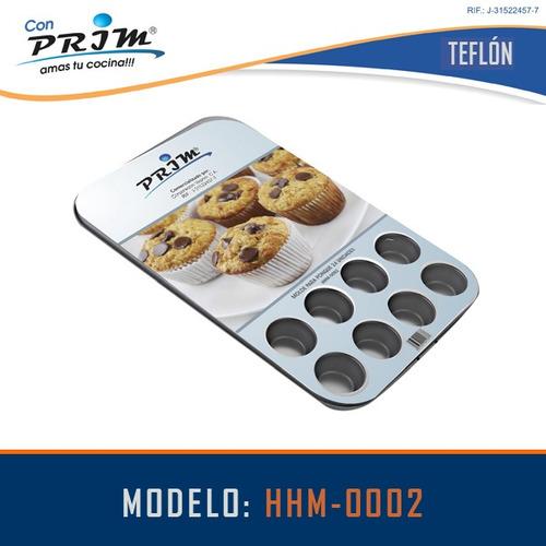 molde prim para mini ponque 24 unidades
