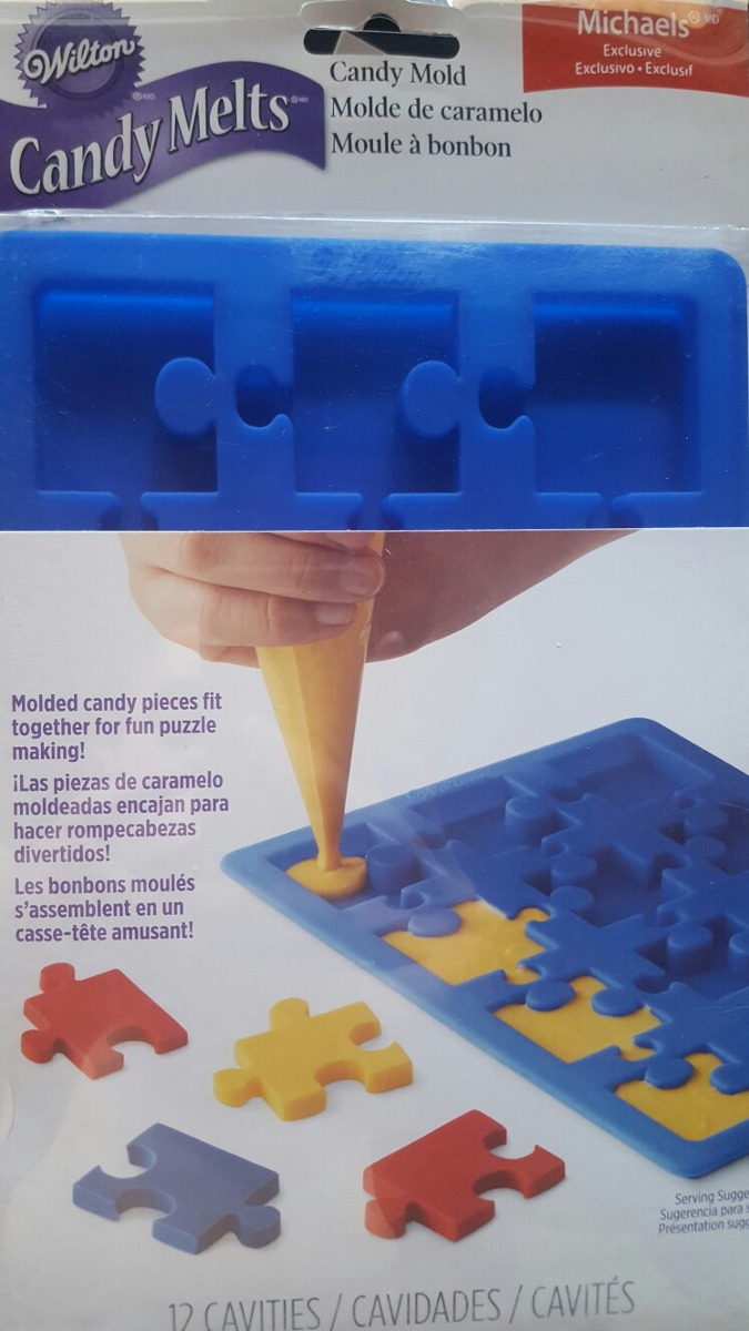 Molde Puzzle Wilton - Exclusivo Michaels