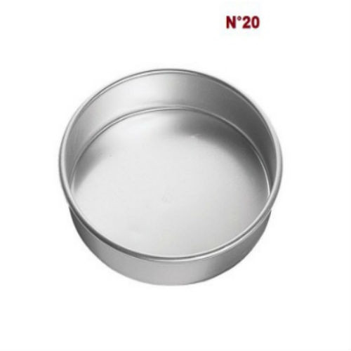molde redondo n° 20 para pastel repostería  hornear