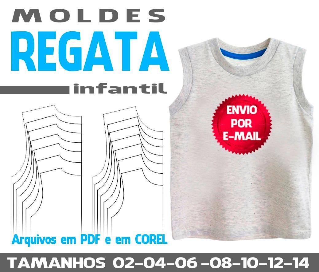 Molde Regata Infantil - R  16 be8b0f8999b