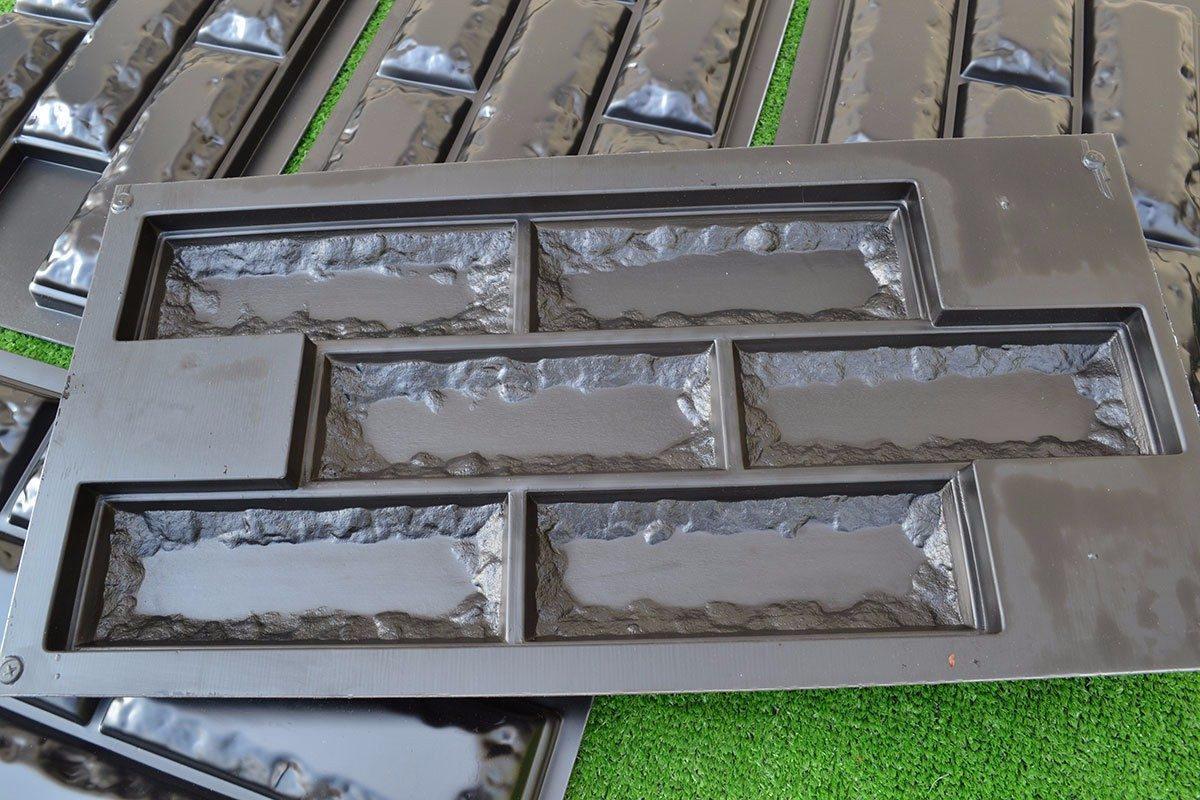 Molde resistente ladrillo pared decoraci n cemento o yeso - Ladrillo visto precio ...