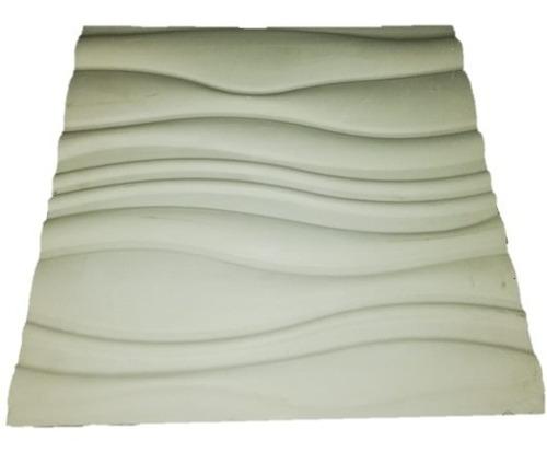 molde revestimiento antihumedad ondas 3d