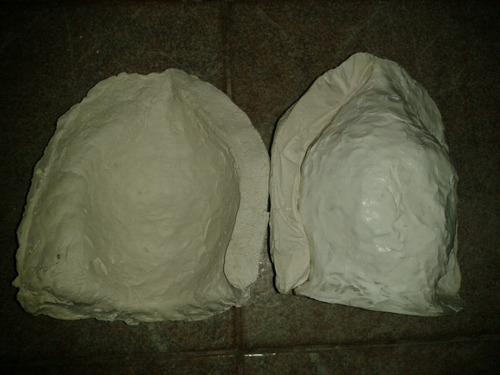 molde rostro buda indu para yeso, resina, cemento