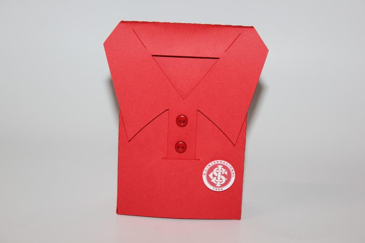 3dd862a1a4 Molde Silhouette Caixa Camisa Internacional - Futebol - R  6