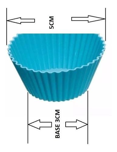 molde silicon 12 (capacillos # 7) - marca psf