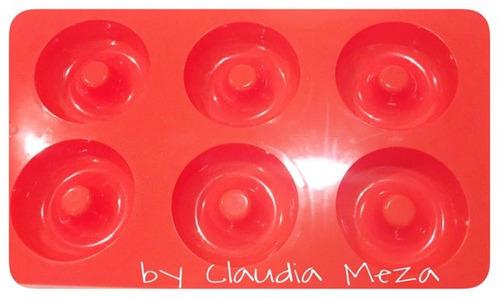 molde silicon 6 donas bimbo+10 mangas+1 cuchillo 30 cms ai.