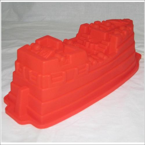 molde silicon barco pirata gigante torta gelatina quesillo