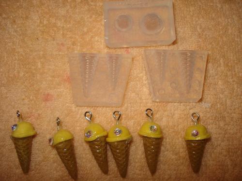 molde silicon hacer helados 2 med. 3d decoden entrega inmedi