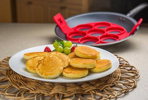 molde silicon  hotcake hotcakes chicos huevos