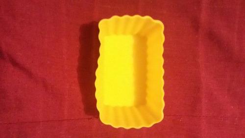 molde silicon rectangular cup cake reposteria torta gelatina