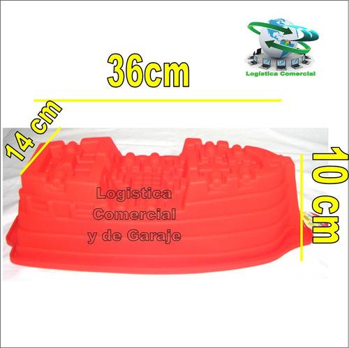 molde silicon torta gelatina quesillo 23cmx11cm grande fiest
