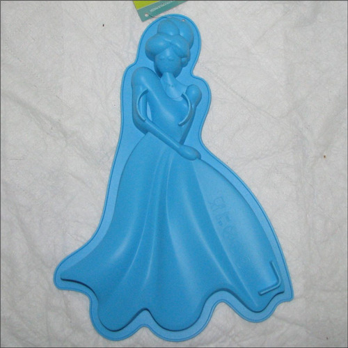 molde silicon torta gelatina quesillo princesa principe 33cm