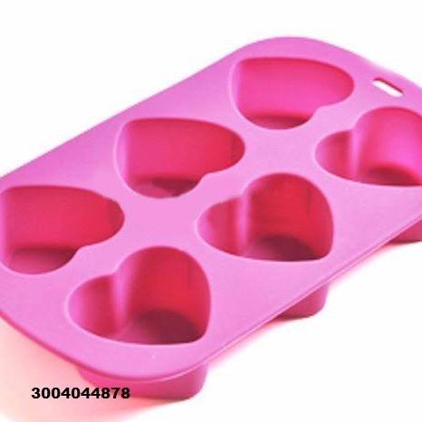 molde silicona corazones para cupcakes, gelatinas, postres..
