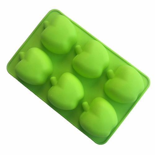 molde silicona manzana para cupcakes, chocolates y mas!!
