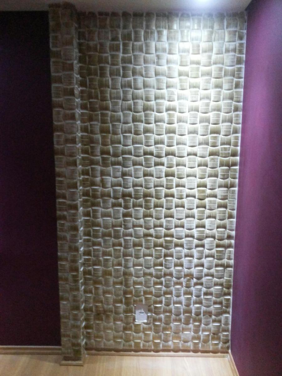 Molde silicona para placa 3d en yeso para pared ref almofada en mercado libre - Placas de yeso para pared ...