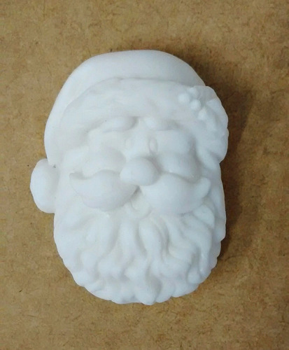molde silicone papai noel glicerina parafina bisqui gesso