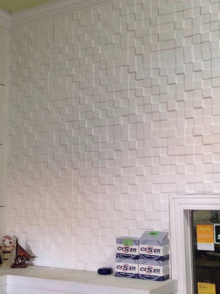 Molde silicone para gesso placas parede em 3d mosaico r - Placas para paredes ...